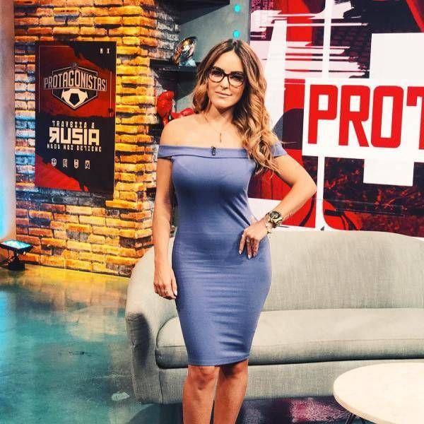 Прекрасная мексиканская телеведущая Патти Лопез