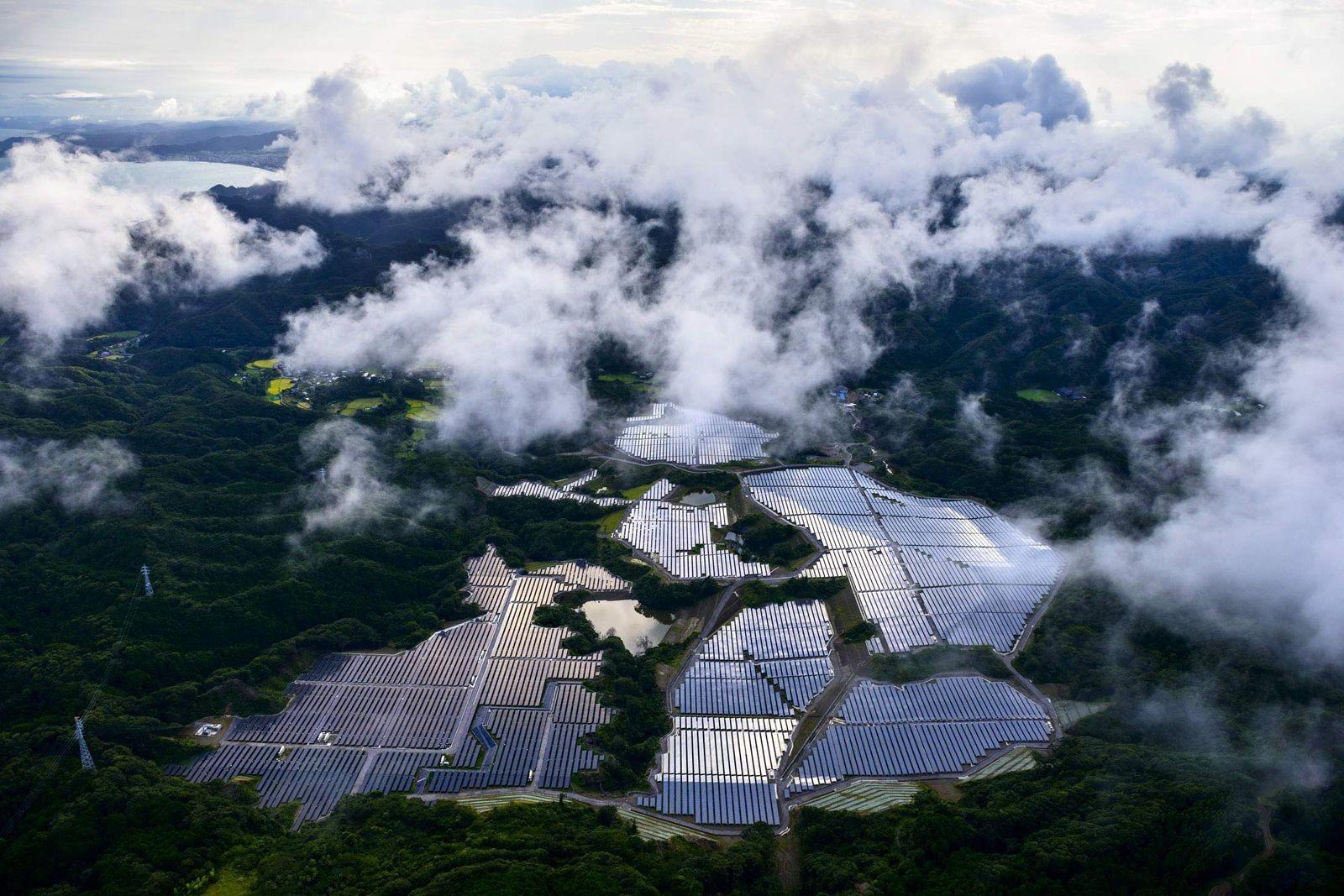 Солнечные панели в Японии