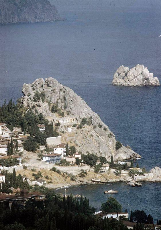 Крым 1958 года в цвете