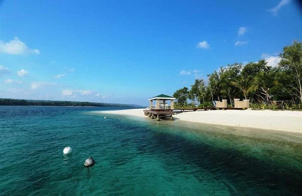 Остров с особняком в Тихом океане за <img src=
