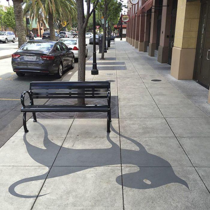 Ожившие тени обычных предметов
