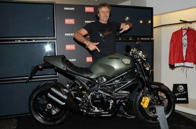 Мотоцикл Monster Diesel
