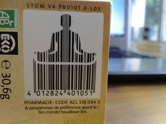 Необычный дизайн штрих-кодов