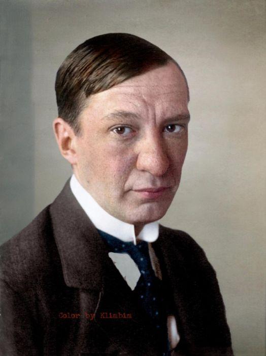 Цветные портреты известных личностей