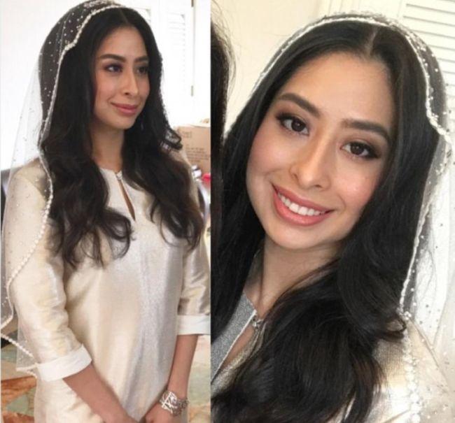 Малазийская принцесса Тунку Тун Амина вышла замуж за голландского менеджера