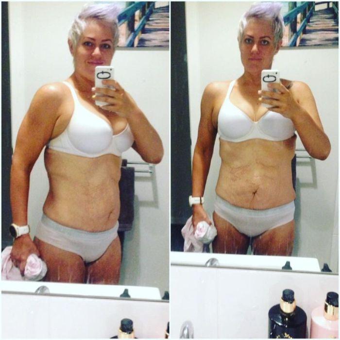 Австралийка увлеклась триатлоном и сбросила 115 кг