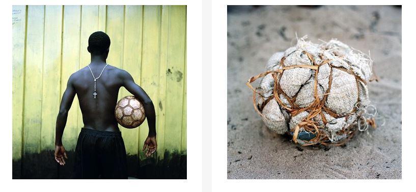 Дворовый футбол в Африке