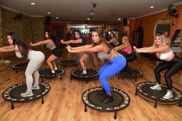 Финалистки конкурса Мисс Бум-Бум-2017 на тренировке
