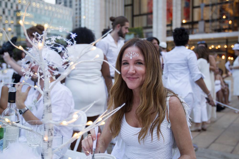 В Нью-Йорке прошел обед в белом