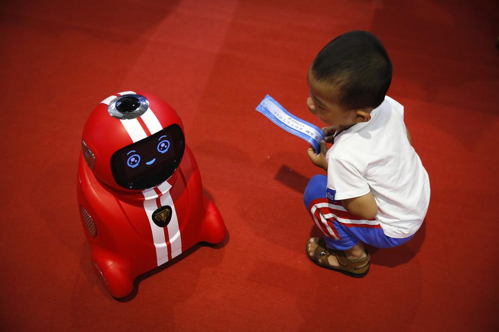 Всемирная конференция роботов в Китае