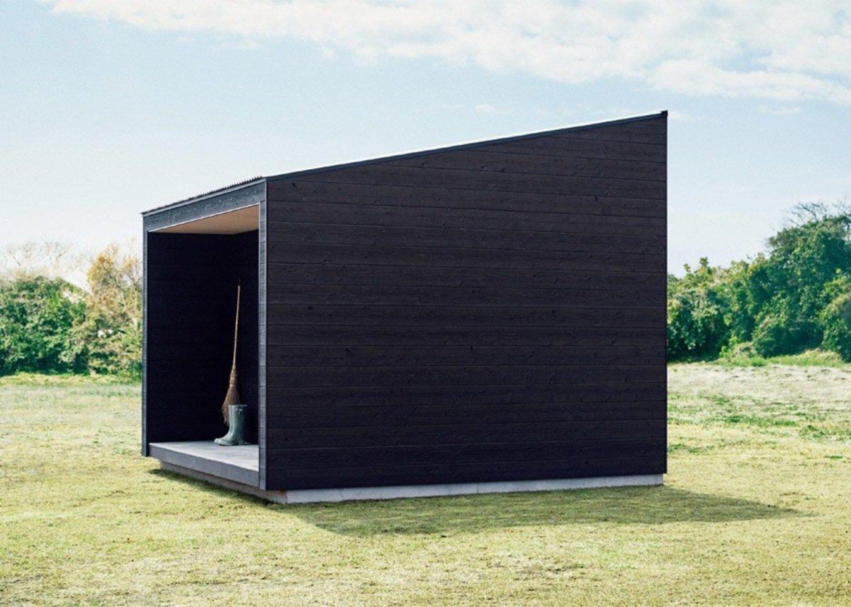 Минималистичные деревянные дома Muji Hut