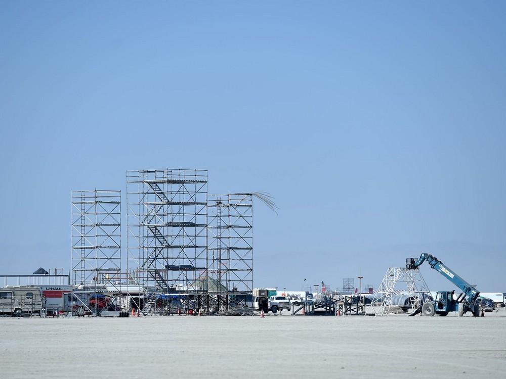 Начался фестиваль Burning Man 2017