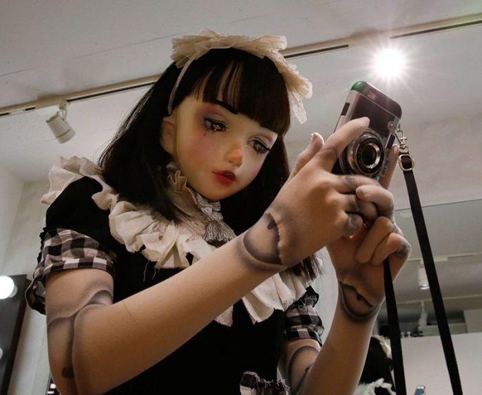 Жуткая живая кукла Лулу Хасимото, которой может стать любая девушка