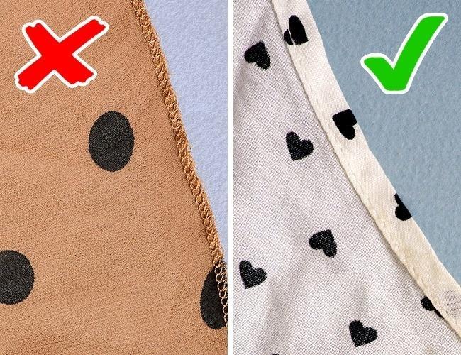 10 советов, которые помогут проверить качество вещей
