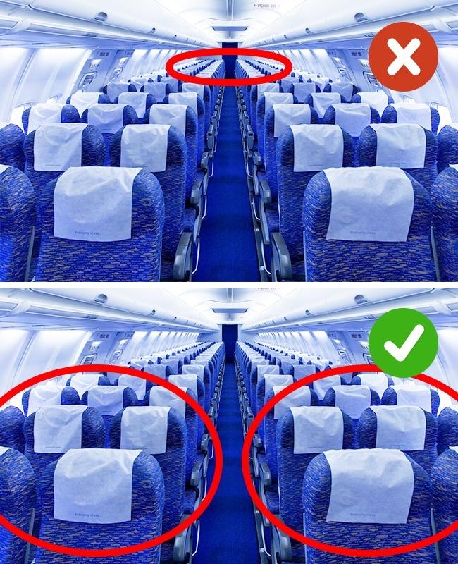 8 вещей, которые не стоит делать в самолете