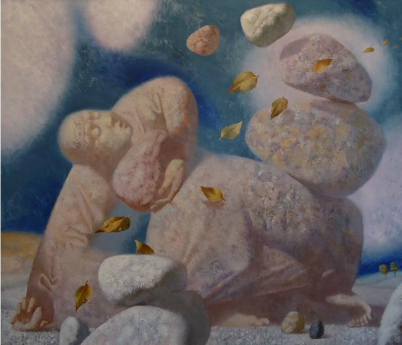Философская живопись от Павла Антипова