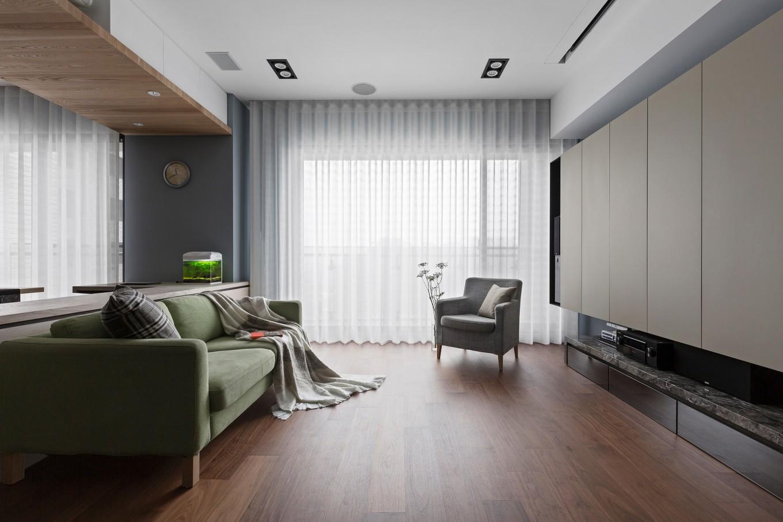 Современная квартира для семьи с детьми