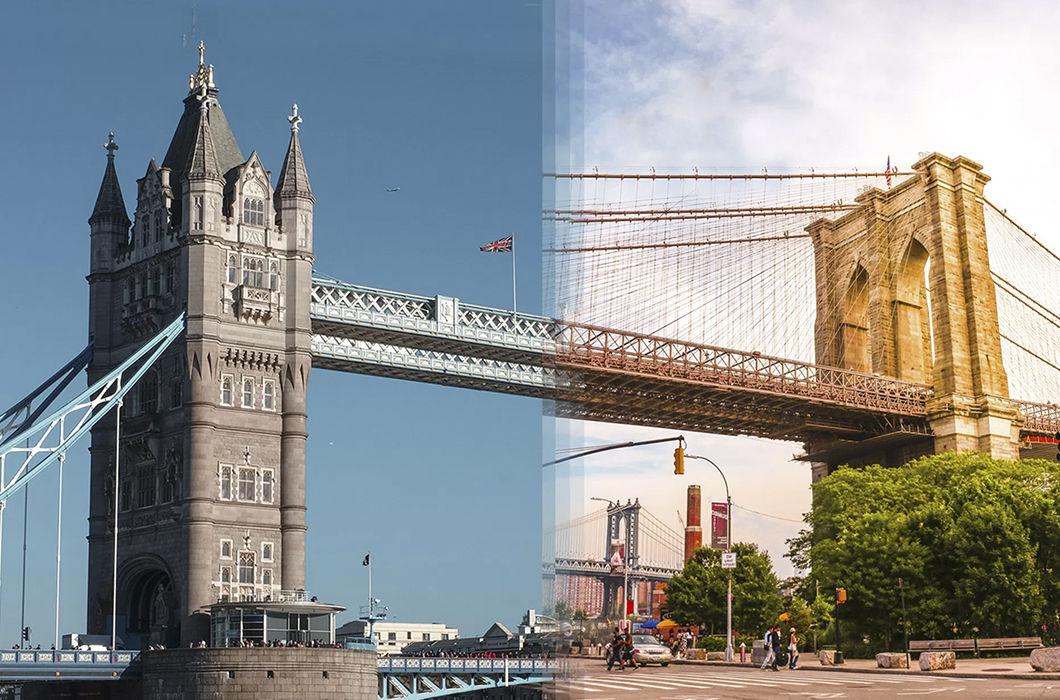Фотопроект о сходстве в непохожем