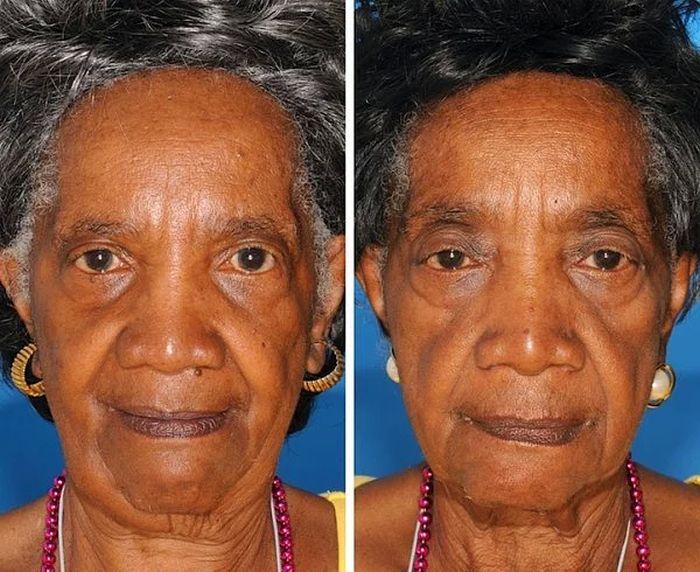 Лица близнецов: один курит, а другой – нет