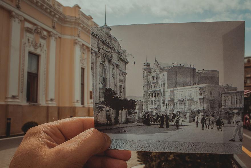 Окно в прошлое на снимках Камала Багирли