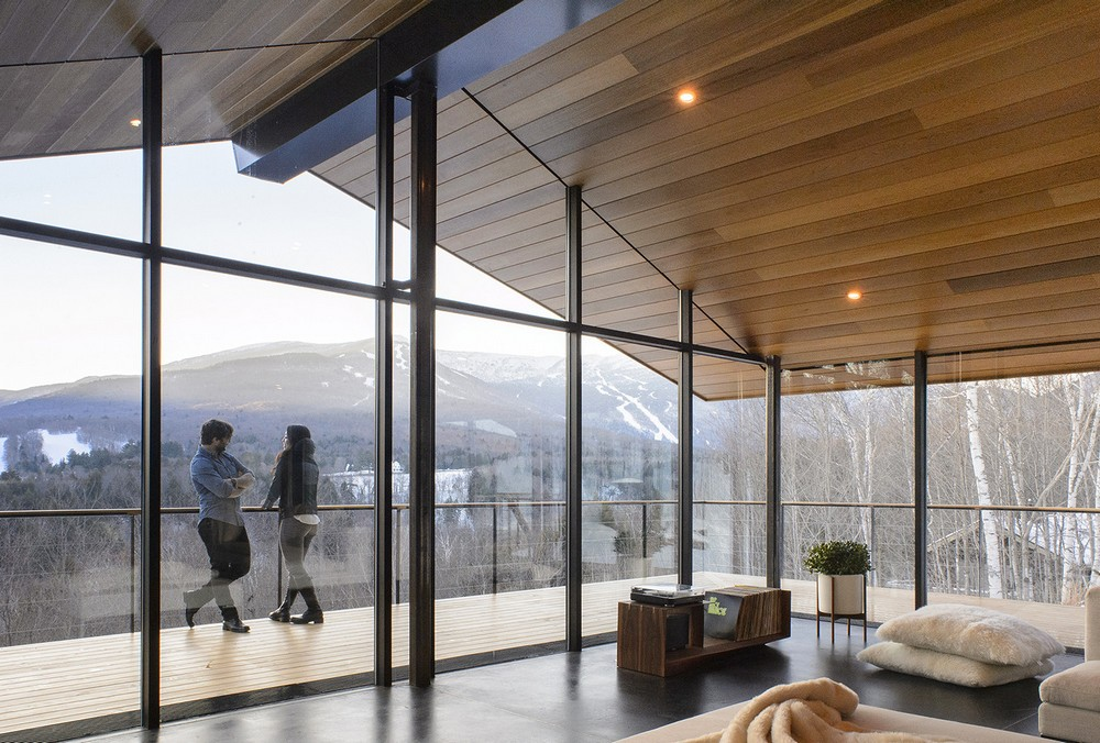 Дом в форме трилистника в США