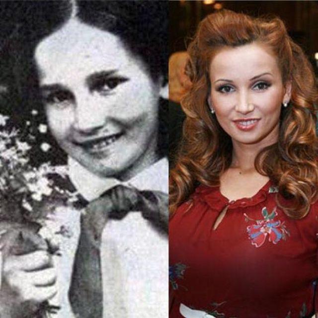 Школьные фото отечественных знаменитостей