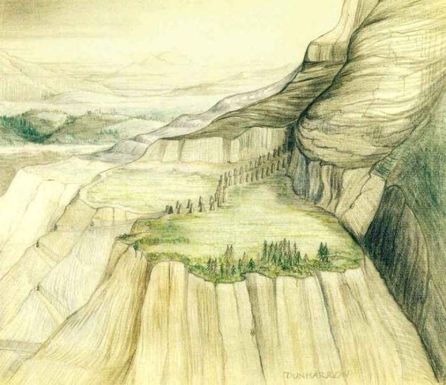 Иллюстрации Джона Толкина к своим произведениям