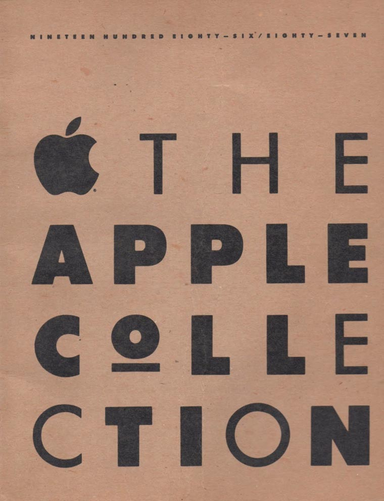 Коллекция одежды от Apple из 1980-х годов