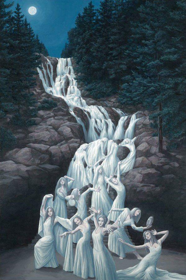 Необычные картины от Роба Гонсалвеса