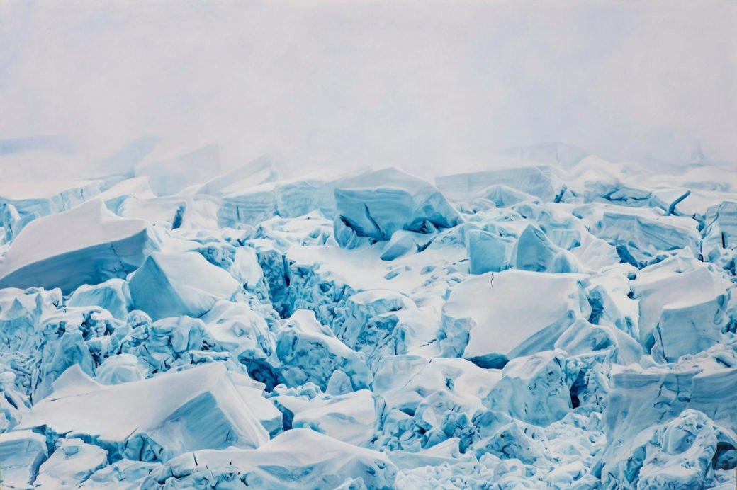 Невероятно реалистичные изображения айсбергов