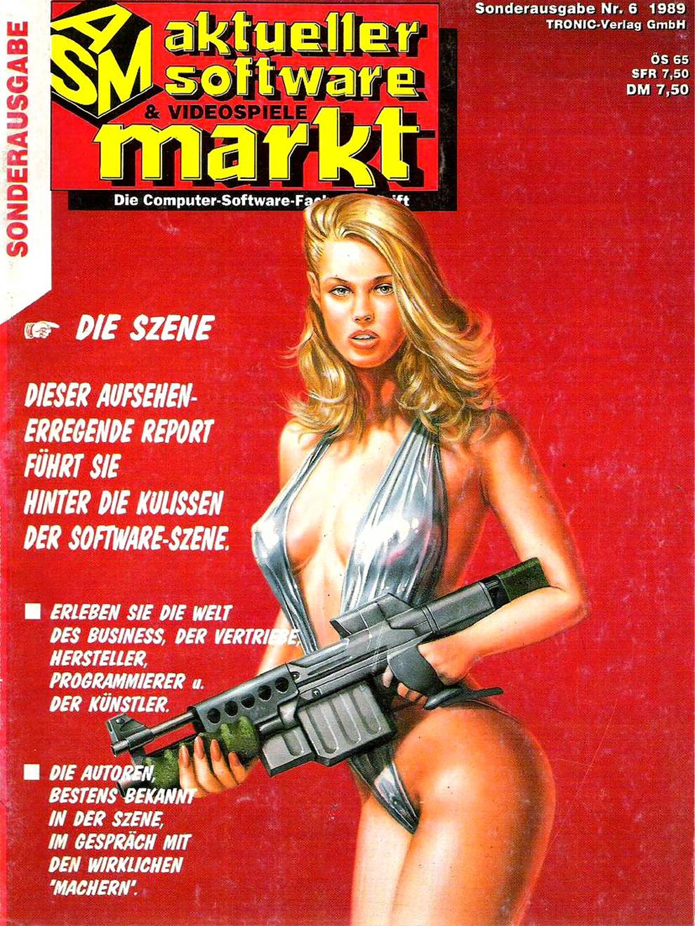 Обложки компьютерных журналов 80-90-х годов