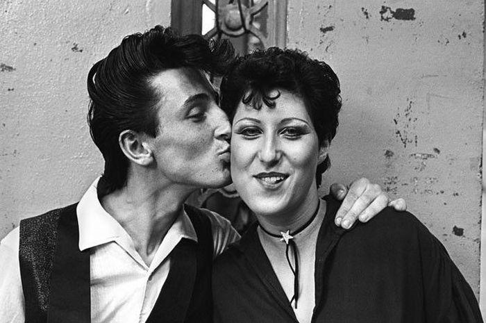 Тедди-бои - британская молодежная субкультура 50-х