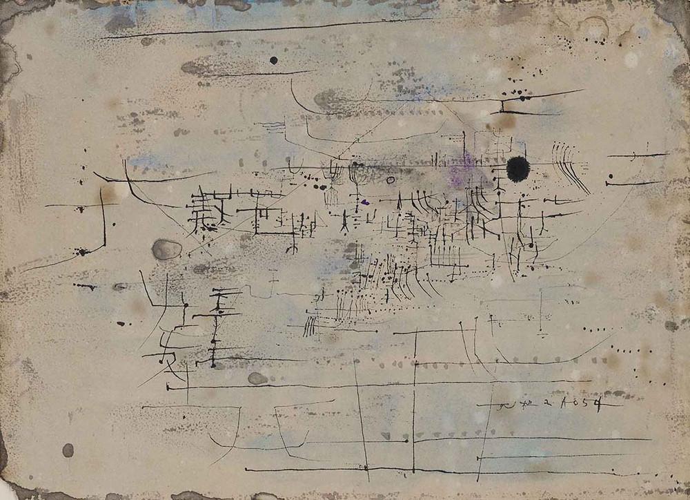 10 фактов о художнике Чжао Уцзи и его картины космической красоты