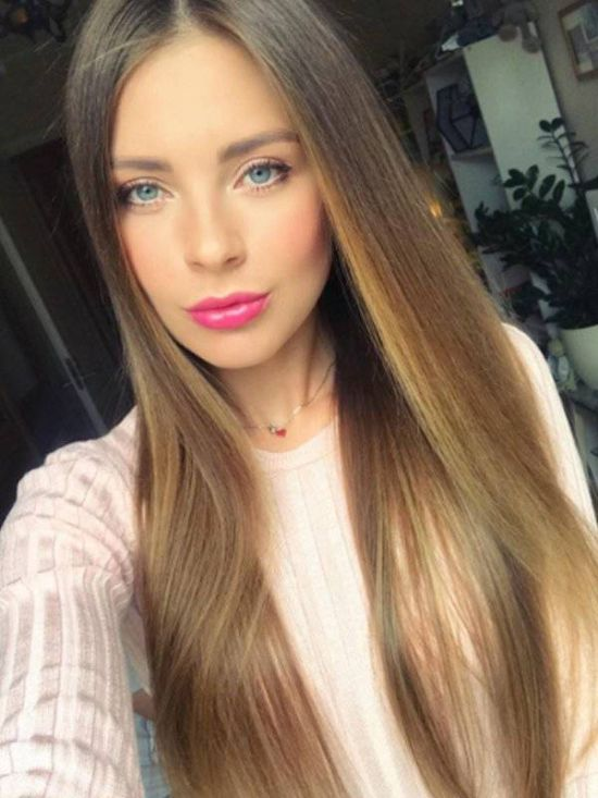 Красивые девушки славянской внешности