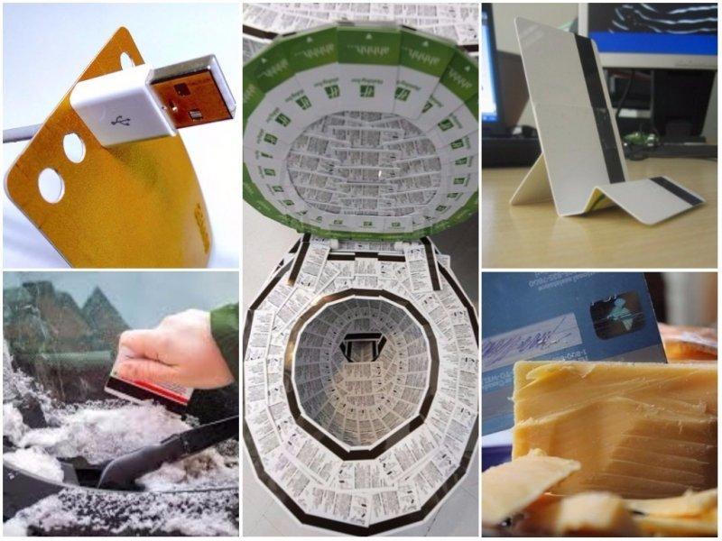 Необычные способы применения банковских карт от людей с большой смекалкой