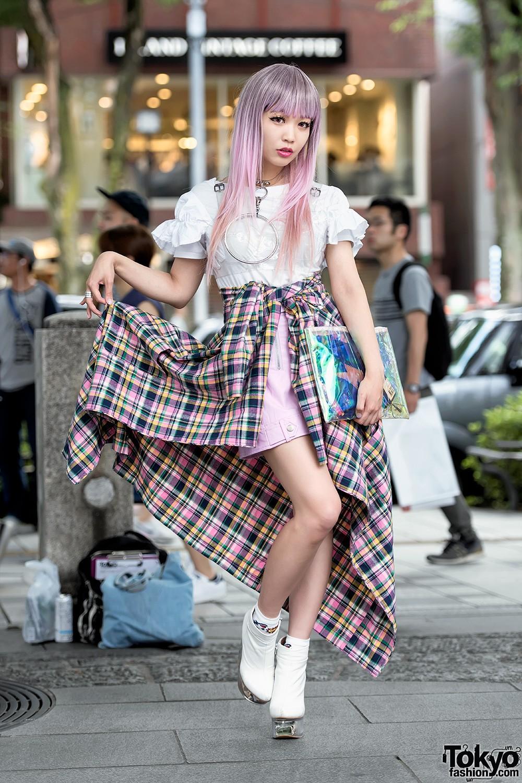 картинки модной одежды японской этого пушистого, длинного