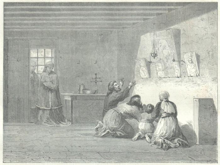 Зарисовки иностранцев, побывавших в России в середине XIX века