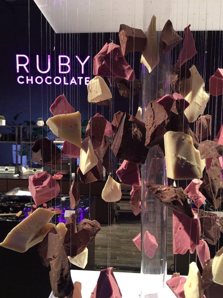 Розовый шоколад - первая инновация на рынке шоколада за 80 лет