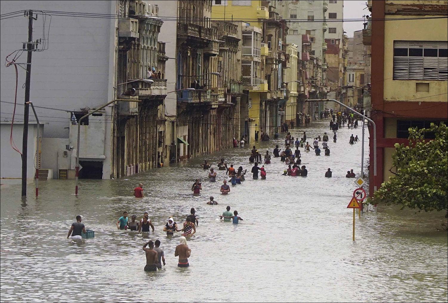 Гавана после урагана Ирма