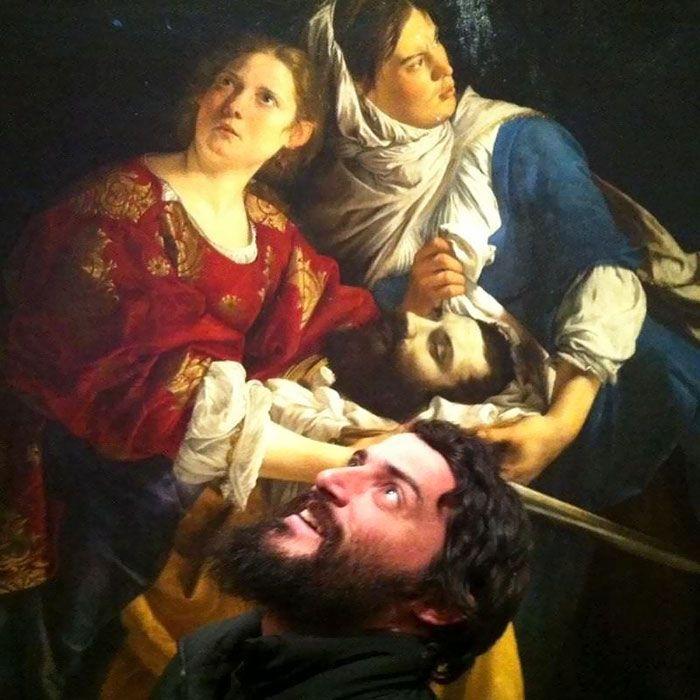 Когда встретил своего двойника в музее