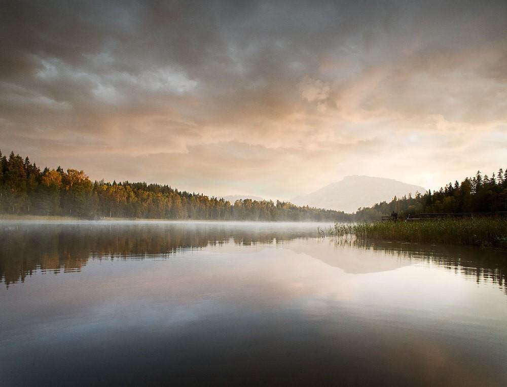 Поэтичные пейзажи от Роберта Элменгарда