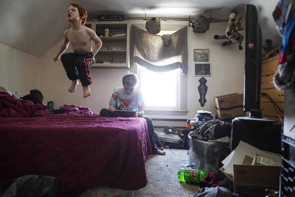 Фотопроект Спальни американцев