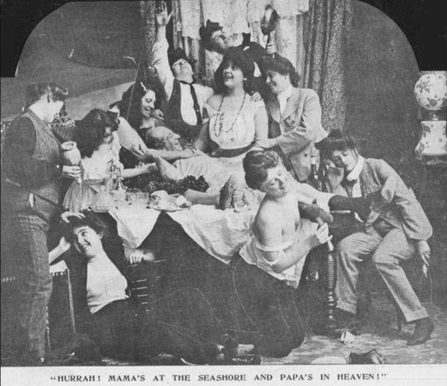 Как выглядели откровенные снимки в начале XX века