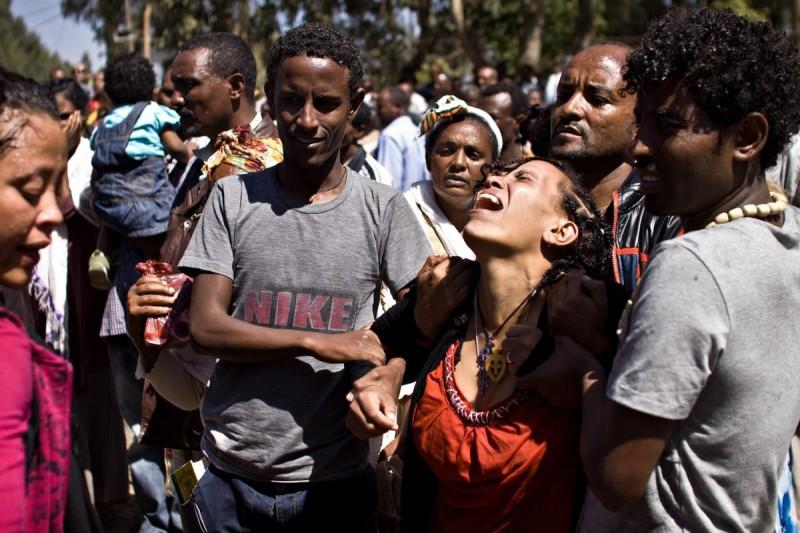 Обряд экзорцизма в Эфиопии
