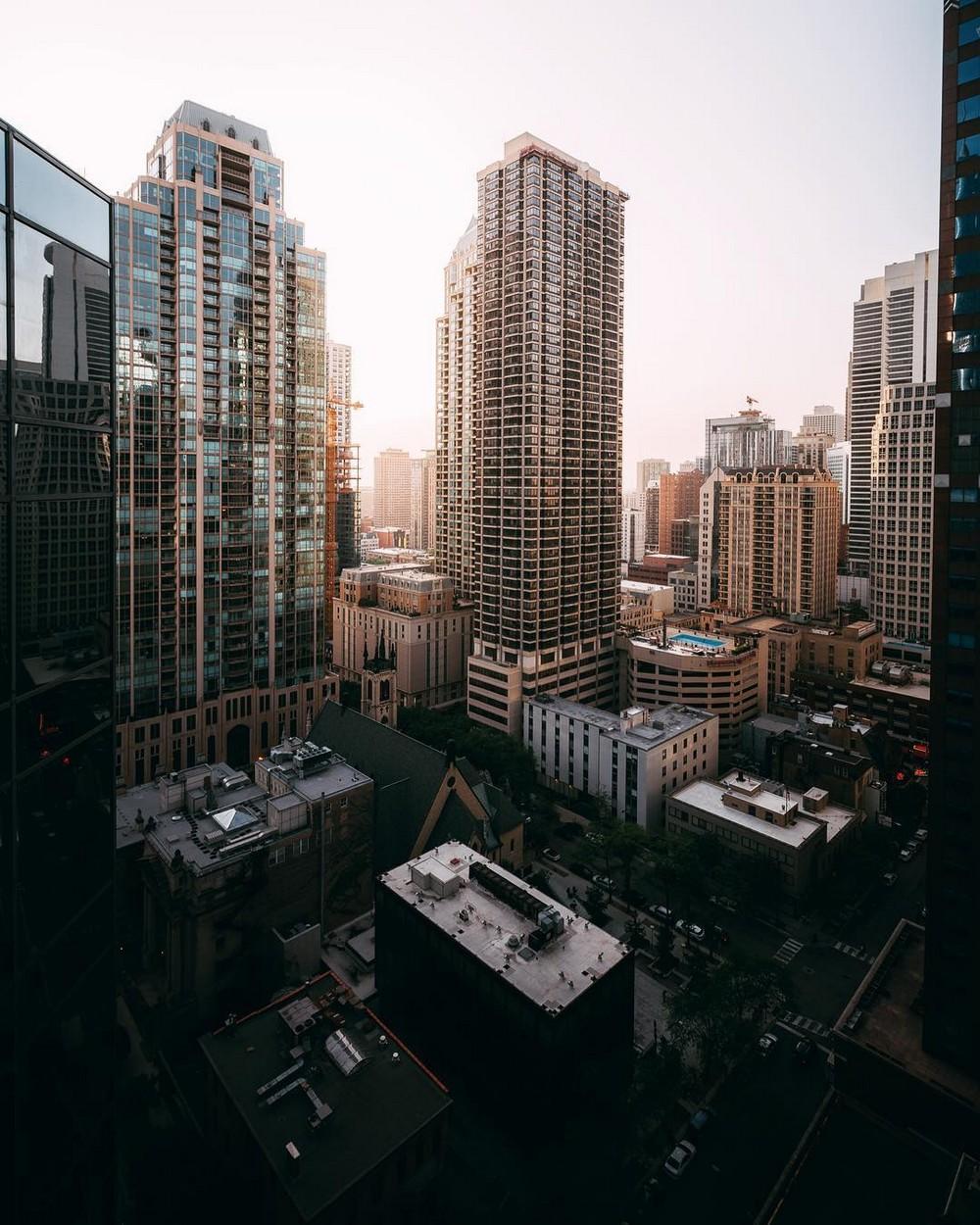 Городская архитектура в объективе Майкла Солсбери