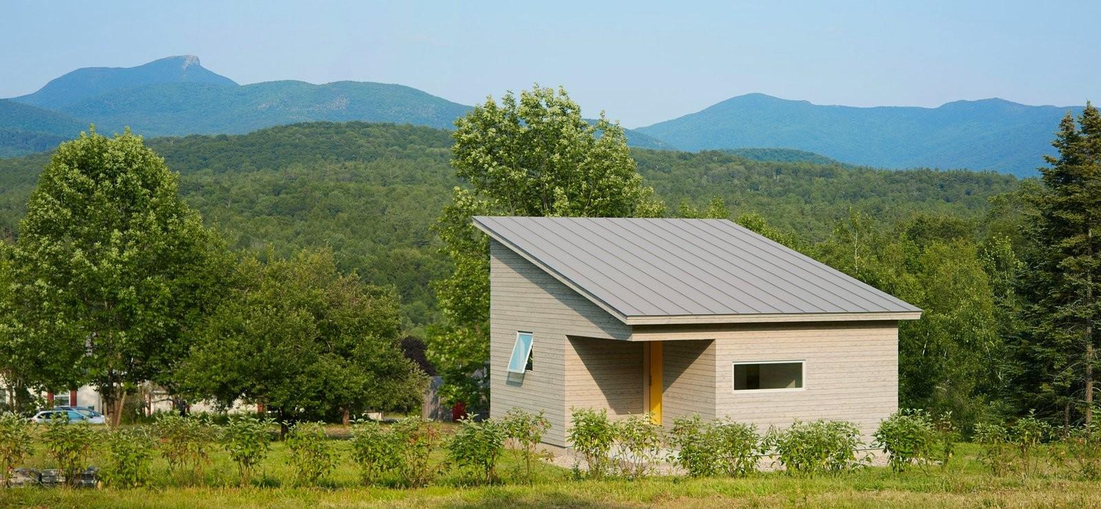 Компактный домик в Вермонте