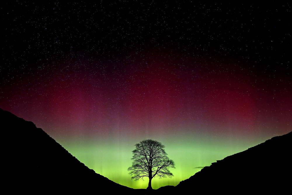Красота северного сияния на фотографиях