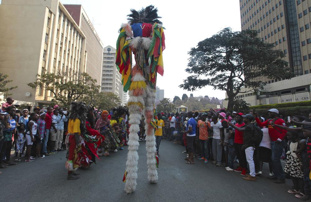 Международный карнавал Хараре в Зимбабве