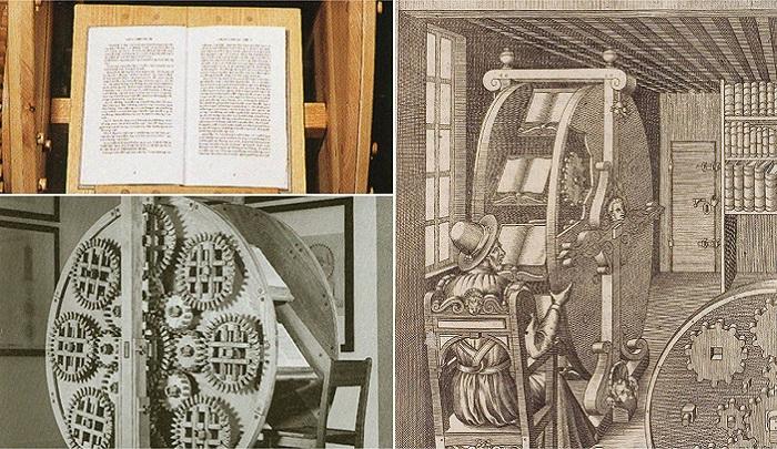 Книжное колесо - изобретение XVI века