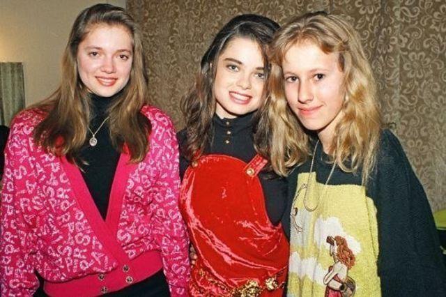 Как современные российские знаменитости выглядели в 90-х годах